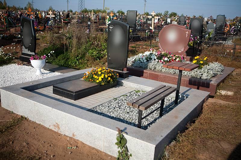 Благоустройство могил в Ижевске памятники фото
