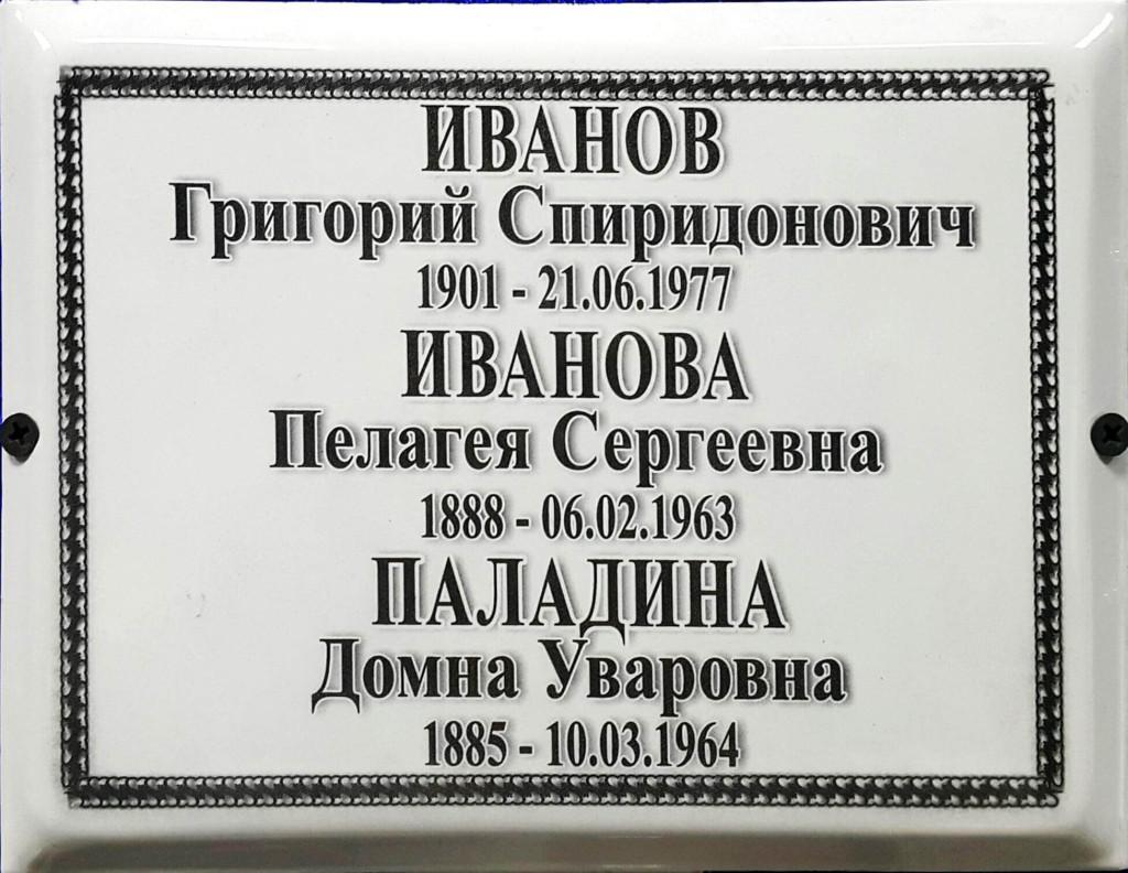 Металлокерамика 17×22см.